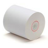 "3"" X 90' 2-Ply Cash Register / Calculator Paper Rolls (Case of 50)"