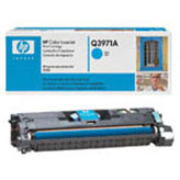 Hewlett Packard HP 2550 2800 Standard Yield Cyan Toner Cartridge (HP-Q3971A)