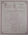 Baptism and Chrismation Certificate