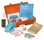 Mueller Team First Aid Kit - Orange - COMPLETE