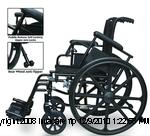 The Osprey Deluxe High Strength Lightweight Wheelchair by Probasics PMI1806