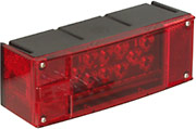 Tail Light with License Light, 3 Wire