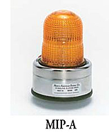 MIP Flashing Lights, 3 Amp. - Pipe Mount