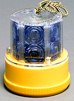 Personal Safety Light - 24 LED - Blue, Magnetic