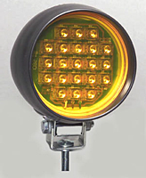 Rapid-Fire LED Warning Light