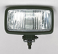 Clear Strobe Head, Driving - Single Stud Mount