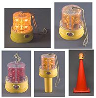 Personal Safety Light - 24 LED - Amber, Magnetic