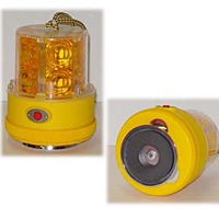 Personal Safety Light - 24 LED - Red w/ 75lb Pull Magnet Base