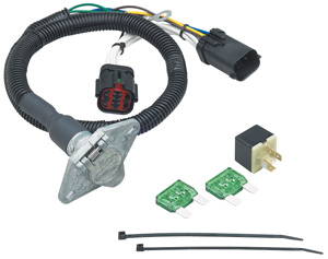 fifth wheel & gooseneck wiring harness - **upgrades from o e m  4-flat to 6- way**