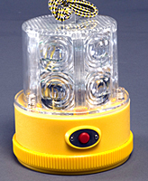 Personal Safety Light - 24 LED - Clear, Magnetic