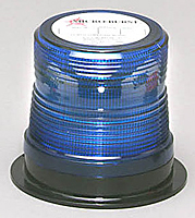 LED Non-Flashing Light-Blue- Permanent Mount-.3 Amperes