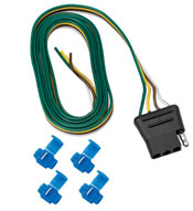 4-Flat Wiring Harness Plug - Vehicle End -  60