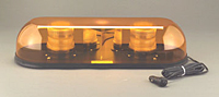 Strobe Light Bars - Mini Bars - Magnetic Mount