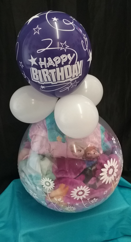 Frozen Balloon Stuff Gift - (Bring your own items for stuffing)