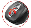 Microsoft Wireless IntelliMouse Explorer 5000, Model: 1007, 1009