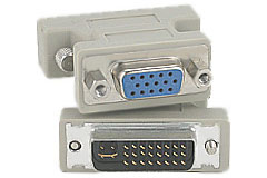DVI to VGA Adapter - Click to enlarge