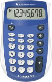 Texas Instruments - 8 Digit Basic Calculator