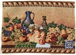 Placemat - Tuscany Design - Style 4 Fruits & Wine