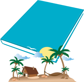 Book Sox - Scented Jumbo Book Cover - Tropical Breeze