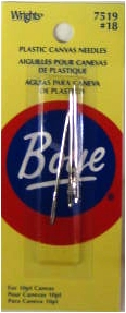 Wrights Boye - Plastic Canvas Needles #18 (For 10 pt canvas)