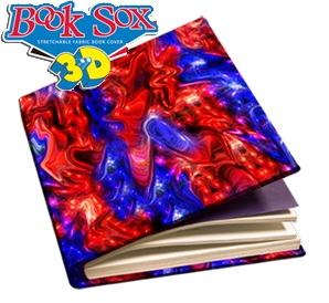 Book Sox - Jumbo Size 3D Print - Shimmer