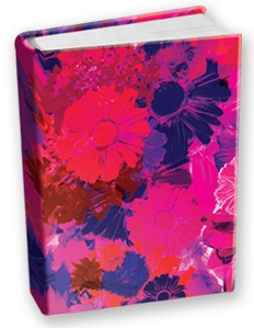 Book Sox - Jumbo Size Print Color - Blossoms