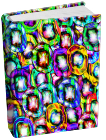 Book Sox - Jumbo Size Print Color - O-zone