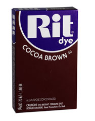 Rit - 1-1/8 oz. Powder Dye - Cocoa Brown