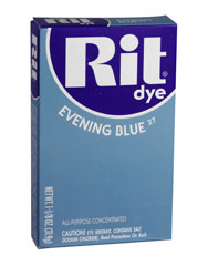 Rit - 1-1/8 oz. Powder Dye - Evening Blue