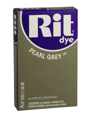 Rit - 1-1/8 oz. Powder Dye - Pearl Grey