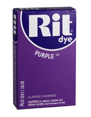 Rit - 1-1/8 oz. Powder Dye - Purple