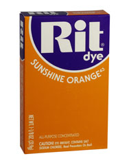 Rit - 1-1/8 oz. Powder Dye - Sunshine Orange