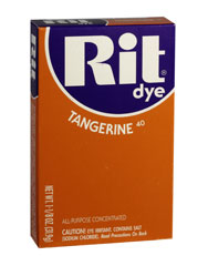 Rit - 1-1/8 oz. Powder Dye - Tangerine