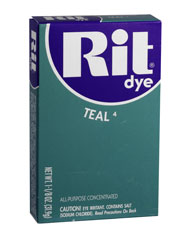 Rit - 1-1/8 oz. Powder Dye - Teal