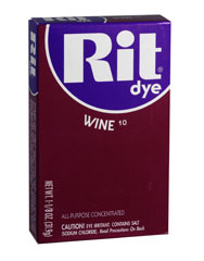 Rit - 1-1/8 oz. Powder Dye - Wine