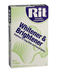 Rit - 1-1/8 oz. Powder Whitener & Brightener