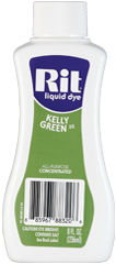 Rit - 8 oz. Liquid Dye - Kelly Green