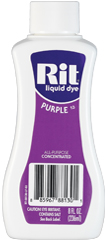Rit - 8 oz. Liquid Dye - Purple