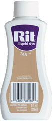 Rit - 8 oz. Liquid Dye - Tan
