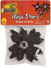 Rubies - 3 PC Set Of Ninja Stars