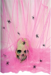 Rubies - Giant Spider Web - Pink