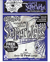 Rubies - Giant Spider Web - White