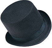 Rubies - Adult Durashape Top Hat