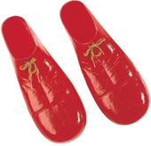 Rubies - Red Adult Plastic Clown Shoes