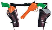 Rubies - Child Two Cowboy Guns and Holster Set