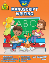 School Zone - Manuscript Writing K-2