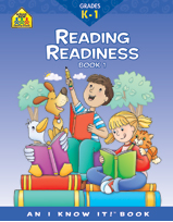 School Zone - Reading Readiness K-1 Bk 1
