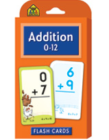 School Zone - Addition 0-12 Flash Cards