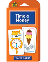 School Zone - Time & Money Flash Cards