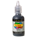 Scribbles - Dimensional Fabric Paint - SHINY BLACK